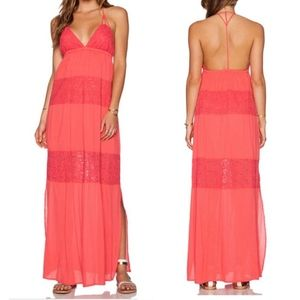 L*Space NWT Goldie Maxi Dress - Size Small